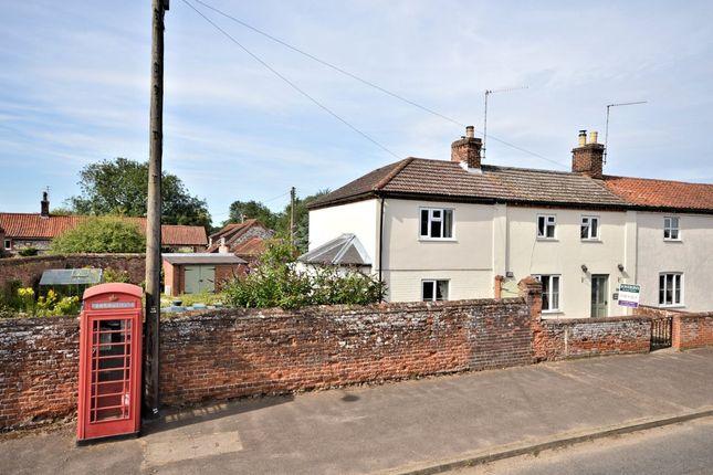Thumbnail Cottage for sale in The Street, Helhoughton, Fakenham