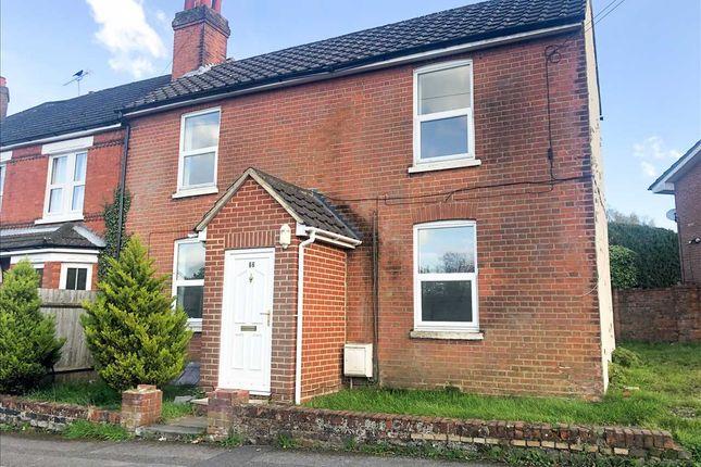 Thumbnail End terrace house to rent in 66, Alexandra Road, Aldershot