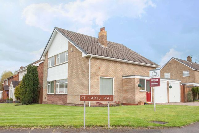 Thumbnail Detached house for sale in St. Marys Way, Aldridge, Walsall