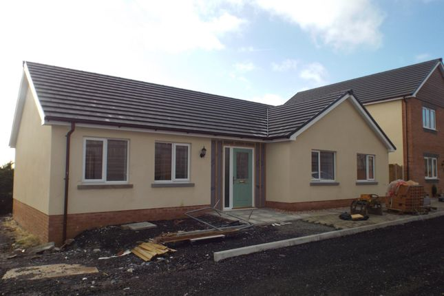 Thumbnail Detached bungalow for sale in Ffordd Werdd, Gorslas, Gorslas, Llanelli