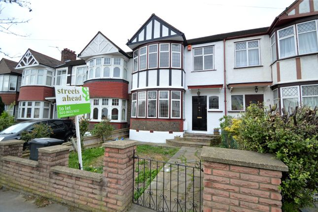 Thumbnail Terraced house to rent in Woodvale Avenue, London