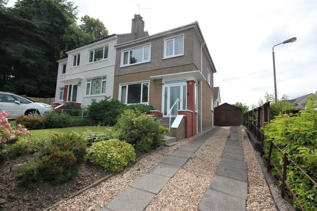 Thumbnail Semi-detached house for sale in 21 Jordanhill Crescent, Glasgow G13, Glasgow,