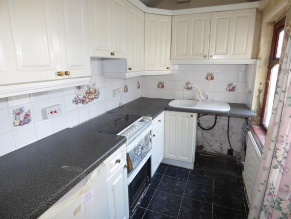 Kitchen of King Street Terrace, Brierfield, Nelson, Lancashire BB9
