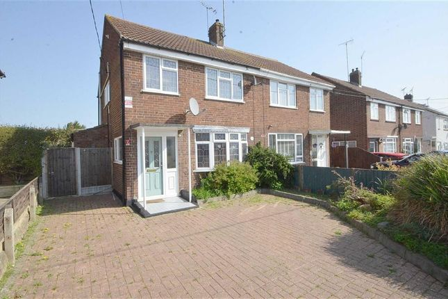 Thumbnail Semi-detached house for sale in Somerset Avenue, Rochford, Essex