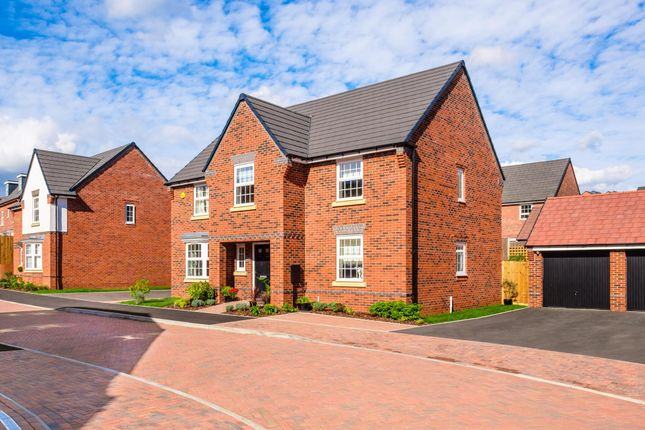 "Thumbnail Detached house for sale in ""Winstone"" at Park View, Moulton, Northampton"