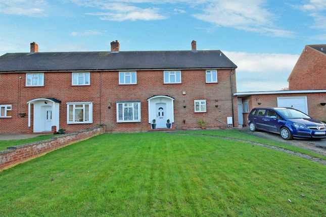 Thumbnail Semi-detached house for sale in Perring Close, Sharnbrook, Bedford