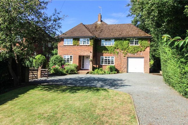 Thumbnail Detached house for sale in Fernhill Walk, Hawley, Camberley