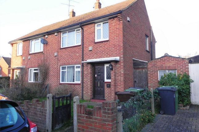Thumbnail Semi-detached house to rent in Mayfield Road, Camberley, Surrey