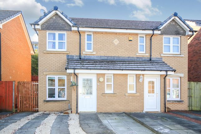 Thumbnail Semi-detached house for sale in Bowhouse Drive, Rutherglen, Glasgow