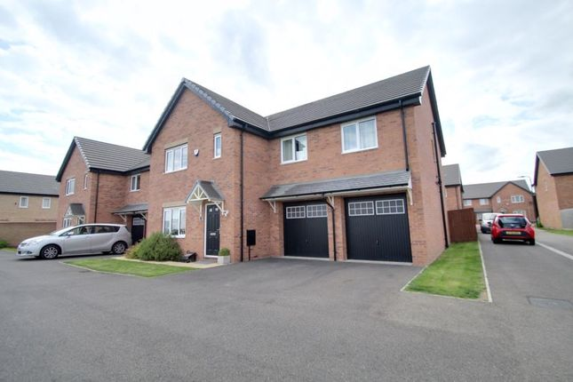 Thumbnail Detached house for sale in Leon Drive, Stanground/Cardea, Peterborough