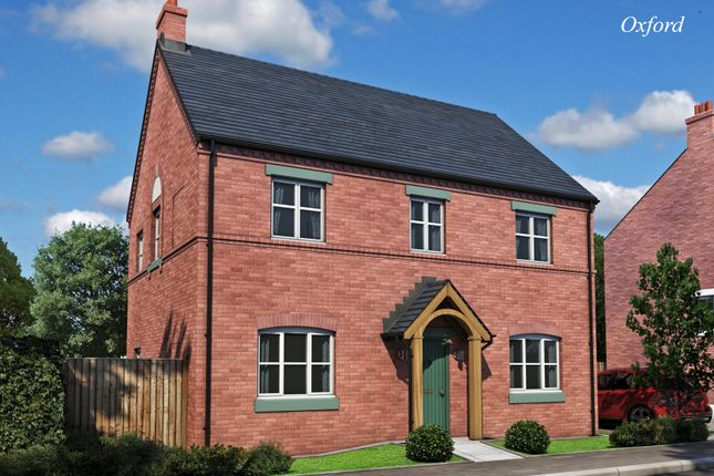 Thumbnail Detached house for sale in The Oxford, Burton Road Tutbury, Staffordshire
