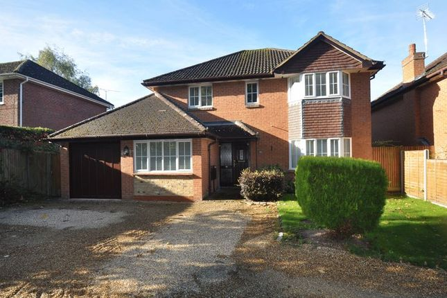 Thumbnail Detached house for sale in Gally Hill Road, Church Crookham, Fleet