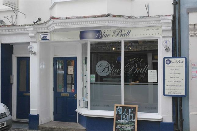 Thumbnail Commercial property for sale in Upper Frog Street, Tenby, Pembrokeshire