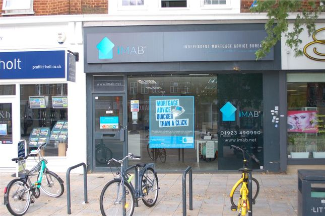 Thumbnail Retail premises to let in The Parade, High Street, Watford, Hertfordshire