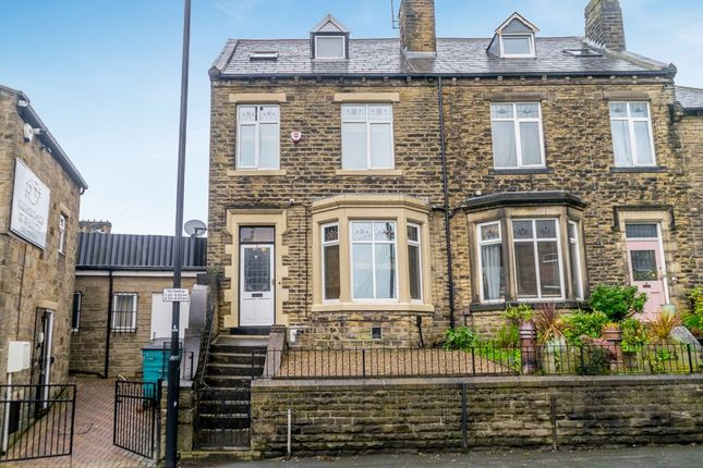 Thumbnail End terrace house for sale in Cemetery Road, Pudsey