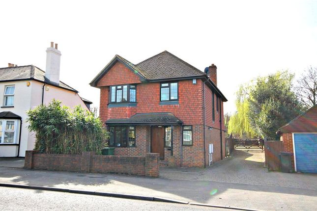 Thumbnail Detached house for sale in Chessington Road, West Ewell, Epsom