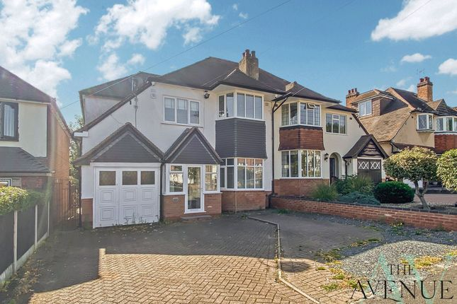 Thumbnail Semi-detached house for sale in Antrobus Road, Sutton Coldfield