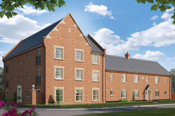 2 bedroom flat for sale in Station Road, Framlingham, Suffolk