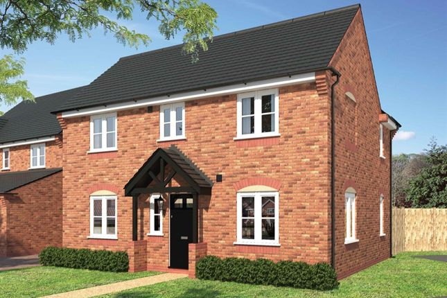 """Thumbnail Detached house for sale in """"The Chatsworth"""" at West Cross Lane, Mountsorrel, Loughborough"""