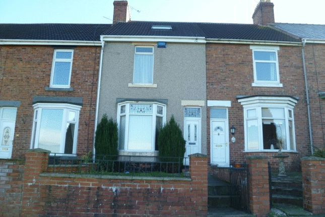 Thumbnail Terraced house for sale in Croft Terrace, Coundon, Bishop Auckland