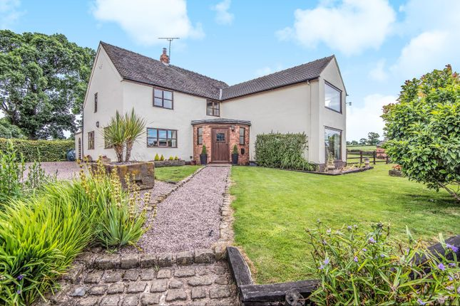 Thumbnail Detached house for sale in Bunsley Bank, Audlem, Crewe