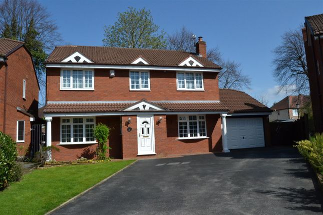 Thumbnail Detached house for sale in Sylvandale Grove, Bromborough, Wirral