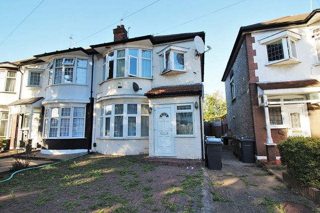 Thumbnail End terrace house to rent in Cherrydown Avenue, London