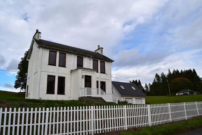 Thumbnail Detached house to rent in Kirkmichael, By Blairgowrie