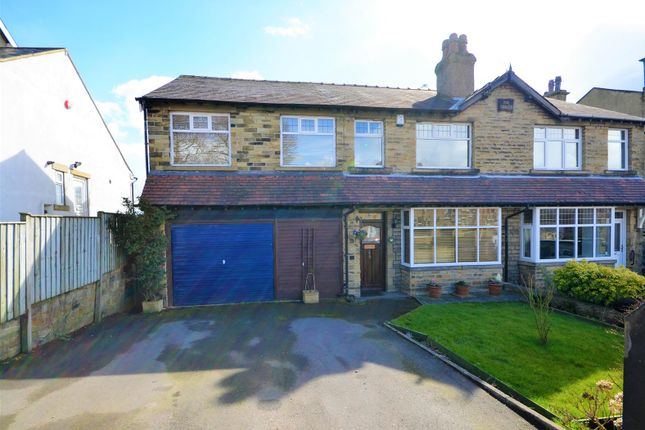 Thumbnail Semi-detached house for sale in Clifton Common, Clifton, Brighouse