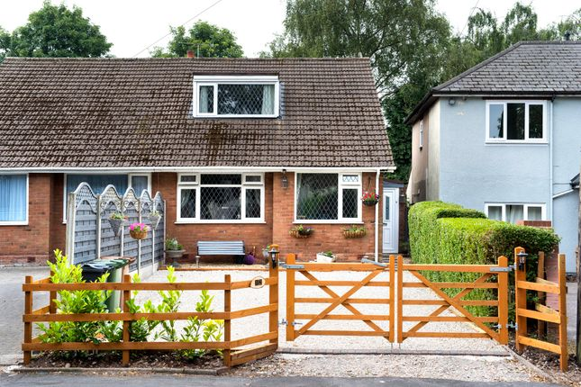 Thumbnail Semi-detached bungalow for sale in Little Hardwick Road, Streetly, Sutton Coldfield