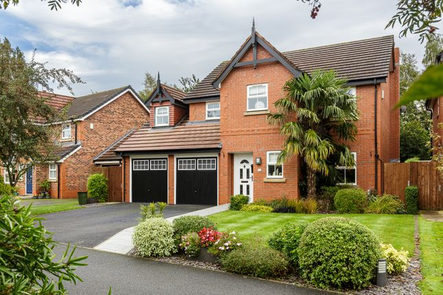 Thumbnail Detached house for sale in Saltmeadows, Nantwich