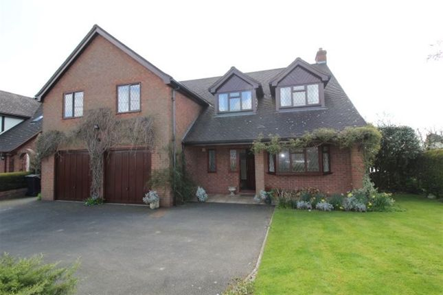 Thumbnail Detached house to rent in Vicarage Lane, Kinnerley, Shropshire