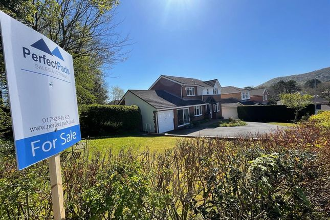 Thumbnail Detached house for sale in Rhiwlas, Skewen, Neath