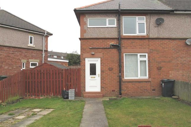 Thumbnail Semi-detached house to rent in Burnside Avenue, Annitsford, Annitsford