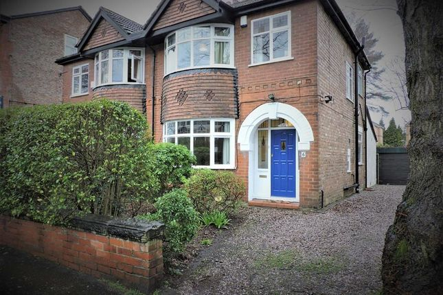 Thumbnail Semi-detached house for sale in Amherst Road, Fallowfield, Manchester