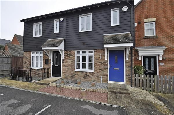 Thumbnail Terraced house for sale in Stowell Close, Singleton, Ashford