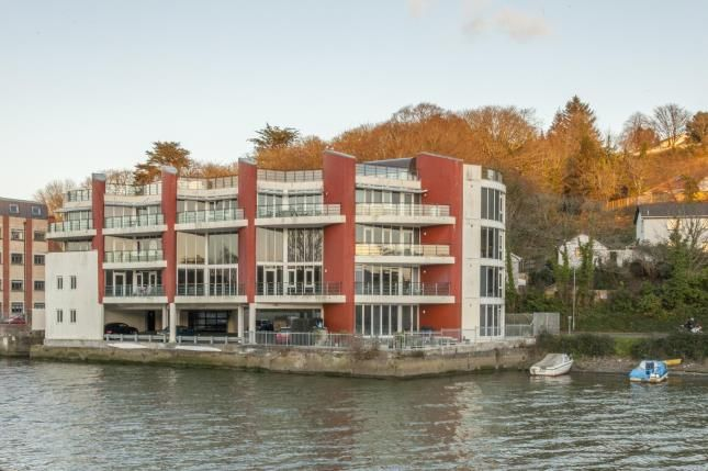 Thumbnail Flat for sale in Malpas Road, Truro, Cornwall