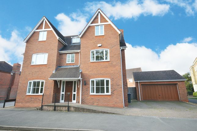 Thumbnail Detached house for sale in Rumbush Lane, Dickens Heath, Shirley, Solihull