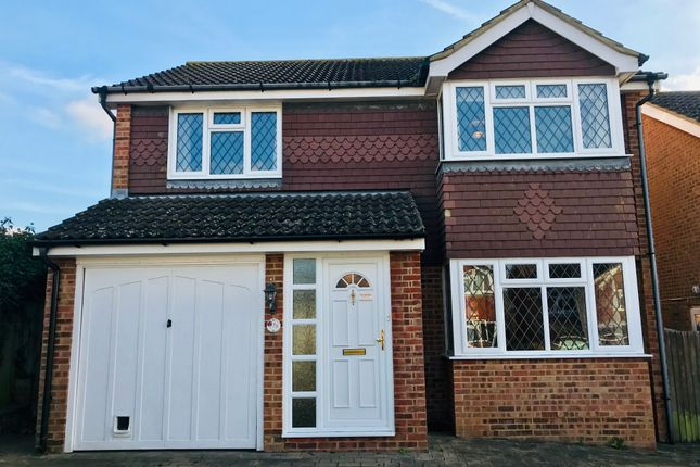 Thumbnail Detached house to rent in Grasmere Close, North Langney