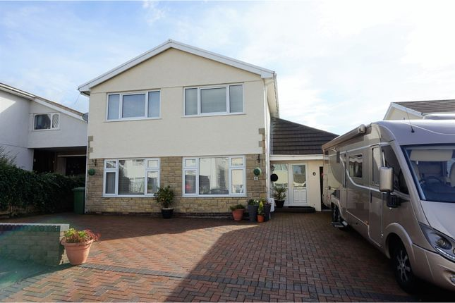 Thumbnail Detached house for sale in Heol Tir Coch, Pontypridd