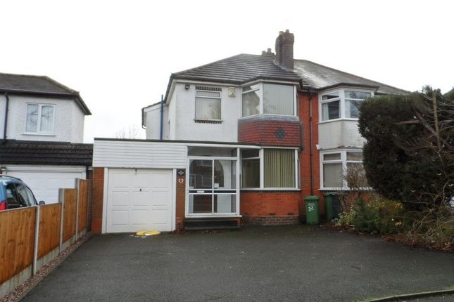 Thumbnail Semi-detached house to rent in Ulleries Road, Solihull