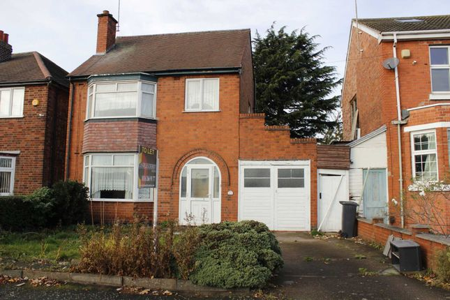 Thumbnail Semi-detached house to rent in The Quadrant, Drummond Road, Belgrave, Leicester