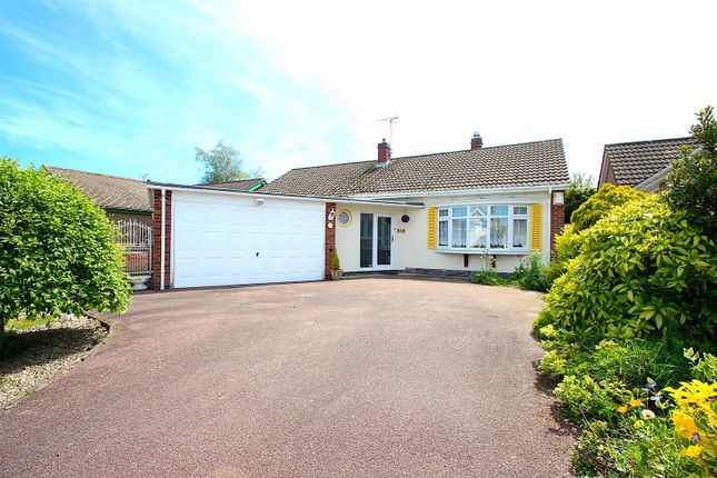 Thumbnail Bungalow for sale in Harene Crescent, Kirby Muxloe, Leicester