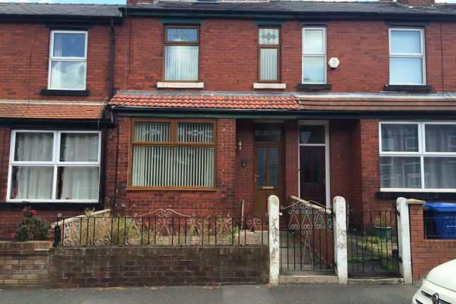 Thumbnail Terraced house to rent in Graham Road, Salford