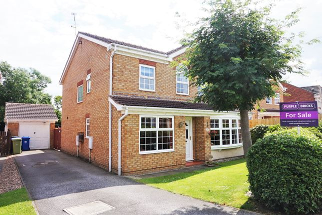 Thumbnail Detached house for sale in Kenilworth Close, Saxilby
