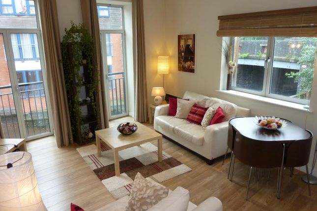 Thumbnail Flat to rent in Holliday Wharf, 17 Waterfront Walk
