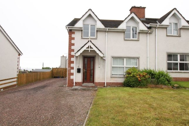 Thumbnail Semi-detached house to rent in Seaview Court, Portavogie, Newtownards