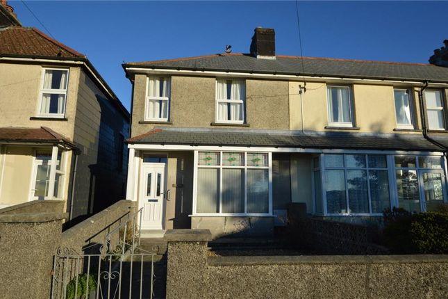 Thumbnail End terrace house to rent in St. Cleer Road, Liskeard, Cornwall