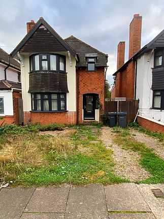 Thumbnail Detached house to rent in Coopers Road, Handsworth Wood, Birmingham