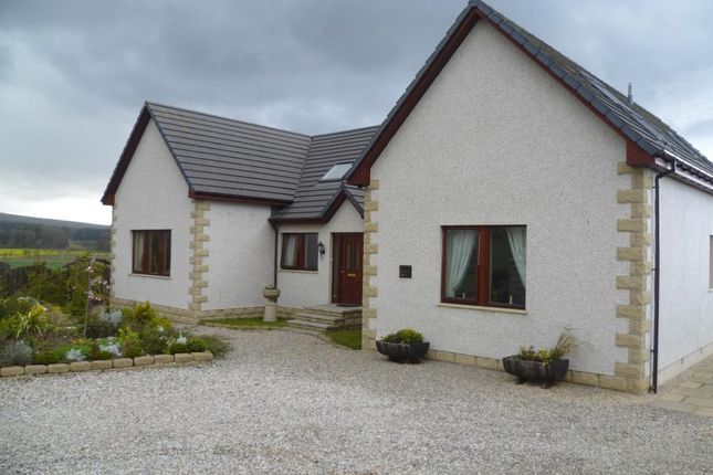 Thumbnail Detached house for sale in Mains Of Cuffurach, Clochan, Buckie